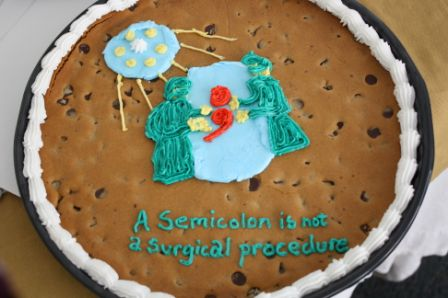 Image copyright by St. John the Evangelist Catholic School & National Punctuation Day